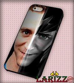 "Mask of Loki tom hiddleston for iphone 4/4s/5/5s/5c/6/6 , Samsung S3/S4/S5/S6, iPad 2/3/4/Air/Mini, iPod 4/5, Samsung Note 3/4 Case ""007"""