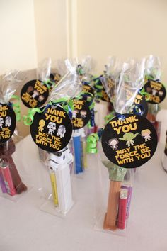 Star Wars baby shower favor More