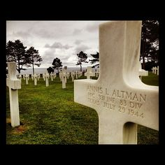 Normandy American Cemetery and Memorial in Coleville-Sur-mer, Basse-Normandie