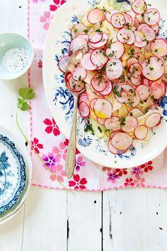 radish salad /