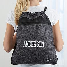Personalized Nike Drawstring Bags - 14428