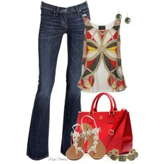 """""""My favorite jeans"""" by madamedeveria on Polyvore"""