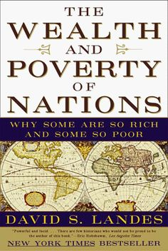Poverty is the natural state of things, What good economists try to figure out is how some people (including most Americans) manage to escape it.