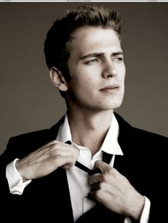 Hayden Christensen-would love for him to be Christian Grey