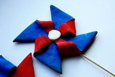 Patriotic Pinwheel Cookies (Fourth of July)