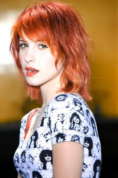 Hayley Williams from Paramore.