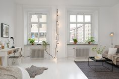 I'm obsessed with these lights! (allyouneediswhite.indiedays.com)