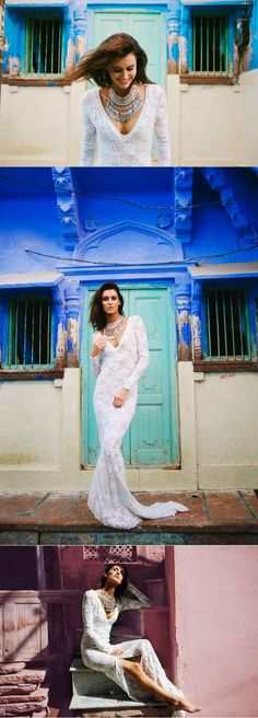 Grace Loves Lace Unveils Stunning New Blue City Collection #bridalwear