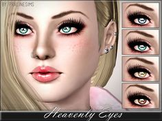 Heavenly Eyes by Pralinesims - Sims 3 Downloads CC Caboodle