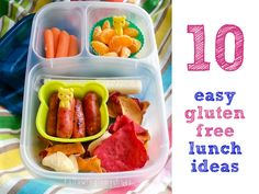easy gluten-free lunch ideas