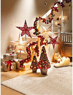 Heine wand weihnachtsbaum