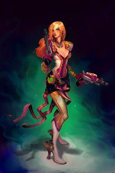 Cassian Female Artwork - Characters & Art - WildStar