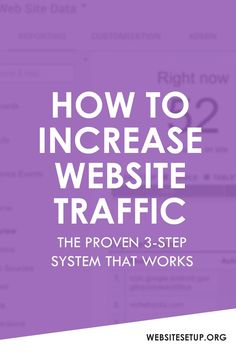 How To Increase Website Traffic - Heres a proven 3-step system that WORKS. Click the PIN to learn now. onlywire account creation service