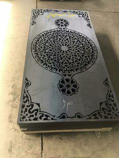Steel Gate Design, Door Gate Design, Laser Cut Metal, Laser Cutting, Sheet Metal Art, Front Wall Design, Jaali Design, Wall Painting Decor, Metal Gates