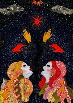"Daria Hlazatova for Paloma Faith ""A Little Magic In The Air"""