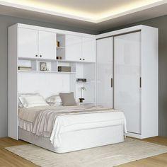 Wardrobe Door Designs, Wardrobe Doors, Small Space Living, Living Spaces, Bedroom Furniture Design, Home Reno, Boudoir, Cama Box, Off White