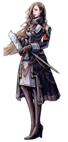 Jihl Nabaat from Final Fantasy XIII; She was so beautiful, but evil. They should have extended her story a BIT more than what was presented. #SquareEnixFail