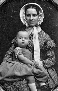 Vintage Woman and Child