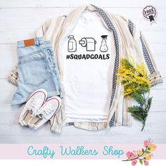 Sewing Patterns Free, Free Sewing, Squad Goals Shirts, Corona Shirt, Spirit Shirts, Flower Shirt, Plus Size Shirts, Overall Shorts, Funny Shirts