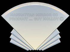 The Manhattan Mirror Co - Marilyn Art Deco Mirror, Melbourne House, Decoration, Wall Decor, Bath Mirrors, Manhattan, Home Decor, Fan, Interior