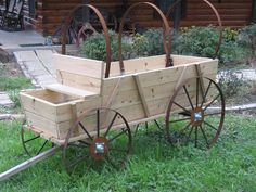 My husband bought this covered wagon replica for me and I can't wait to load it up with fowers!  It's 4' tall and 6' long...going to take a lot of flowers!