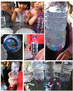 Love this at DIY Snow Globe activity and a bunch more..  Have to try for at home/playdates.