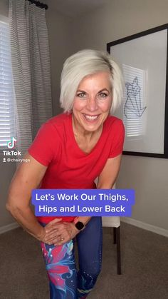 Yoga Videos For Beginners, Gym Workout For Beginners, Fitness Workout For Women, Workout Videos, Yoga Fitness, Fitness Tips, Health Fitness, Beginners Cardio, Yoga For Seniors