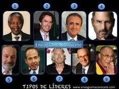 Líderes internacionales de acuerdo a su eneatipo