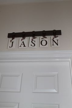 From ETSY:  http://www.etsy.com/listing/87981879/personalized-family-name-sign-brescher