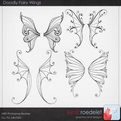 Doodly Fairy Wings zentangle fairy, fairi wing, drawing fairies, drawing fairy, drawing wings, fairy drawing, fairy doodles, halloween zentangle, zentangle wings