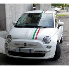 Tricolore per Fiat 500 (Big Sticker)