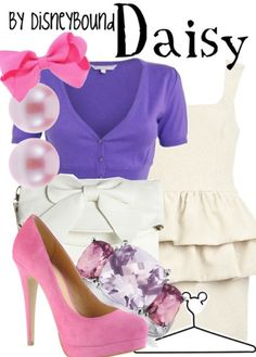 Daisy by Disney Bound  Fashion Disney Outfit  Mickey Mouse and Friends