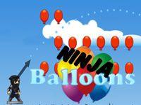 math game, ninja throw, arrow, angl, mobil game, balloon