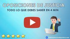 OPOSICIONES DE JUSTICIA 2017: TODO LO QUE NECESITAS SABER EN 4 MIN! Auxilio, Tramitación y Gestión https://www.youtube.com/watch?v=KM1TqQvIxU8