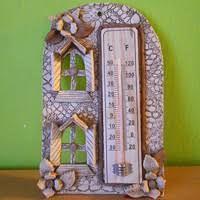 Thermometer, Wall Plaques, Bookends, Pottery, Home Decor, Fimo, Ceramica, Decoration Home, Room Decor