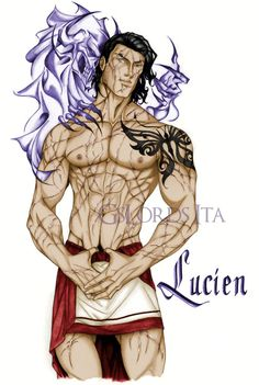 Lucien and Death by GsLordsIta