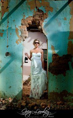 Alternate High Fashion wedding photography by top SA wedding photographer Greg Lumley