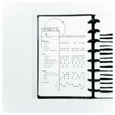 Minimalist Bullet Journal #habit#tracker