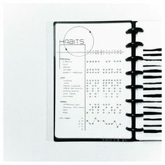 Minimalist Bullet Journal #habit#tracker
