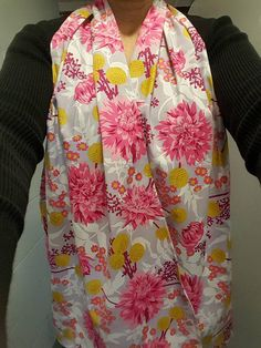 Check out this item in my Etsy shop https://www.etsy.com/listing/526344782/dining-scarf-adult-bibs-pretty-in-big