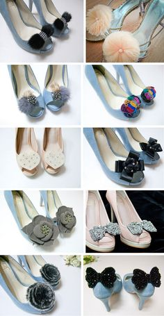 Beautiful shoe clips