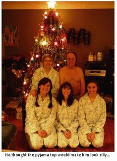 Awkward holiday portraits
