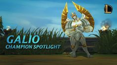 Champion Spotlight: Galio - The Colossus https://www.youtube.com/watch?v=t3BFQMW2Lfw&feature=youtu.be #games #LeagueOfLegends #esports #lol #riot #Worlds #gaming
