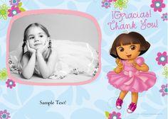 Dora the Explorer - Photo Card