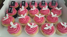 Confirmation cupcakes