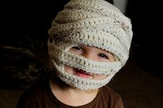 Mummy Hat crochet pattern.