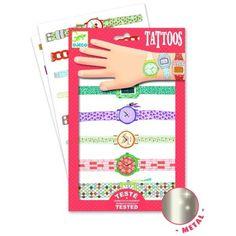Djeco : Tatouages - Les montres de Wendy - Castello   Jeux et Jouets