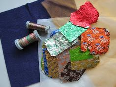 Sweet Wrappers, Blue Peter, Baking Parchment, Silver Paper, Needle Case, Sewing Projects, Textiles, Fingers, Crafts