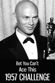 Warning: This 1957 Challenge Will Give You Serious Nostalgia Amazing People, Good People, Famous Men, Famous People, Male Celebrities, Celebs, Cult Of Personality, Yul Brynner, Labrador Puppies