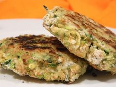 "Recipe Makeover: Zucchini ""crabby"" Cakes (Low Fat, Vegan, Gluten Free)"
